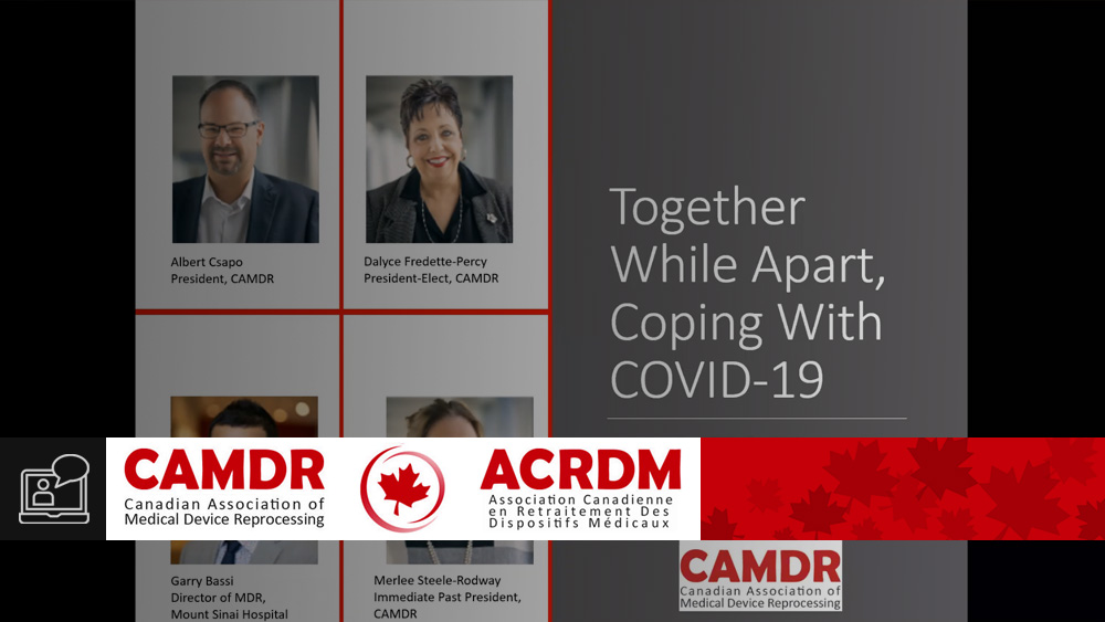 Together While Apart, Coping with COVID-19